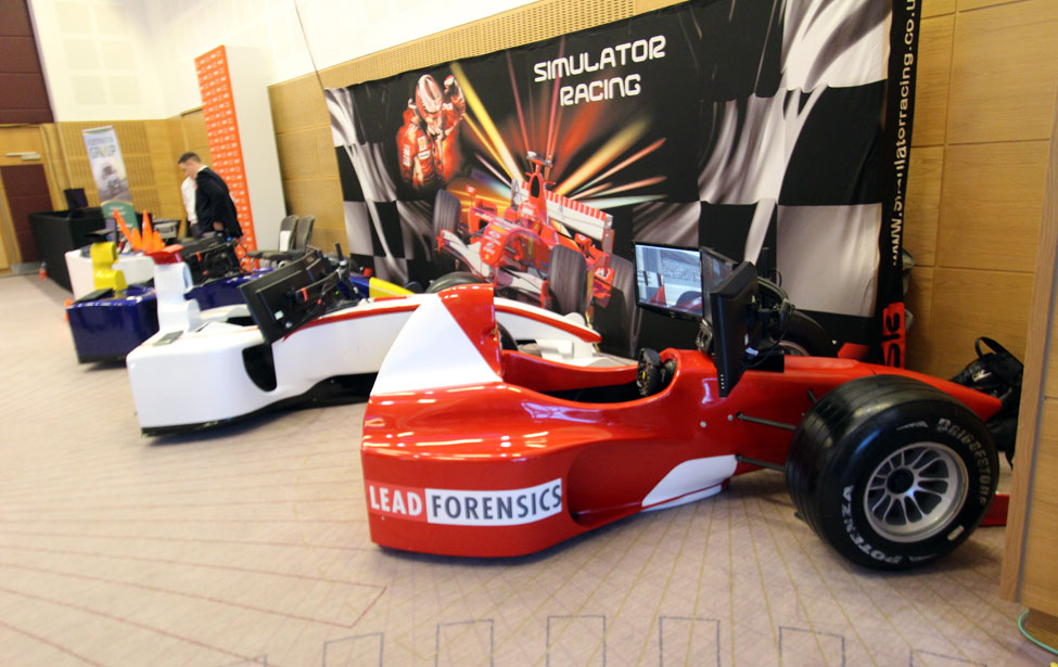 F1 Half Car Simulators