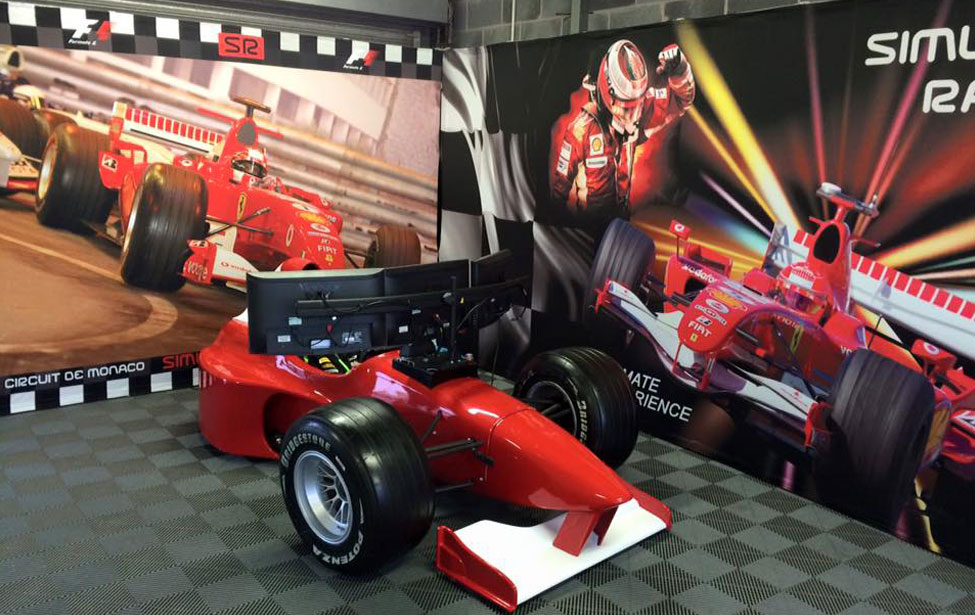 F1 Simulator F1 Car Hire F1 Themed Party Formula 1 Car Hire