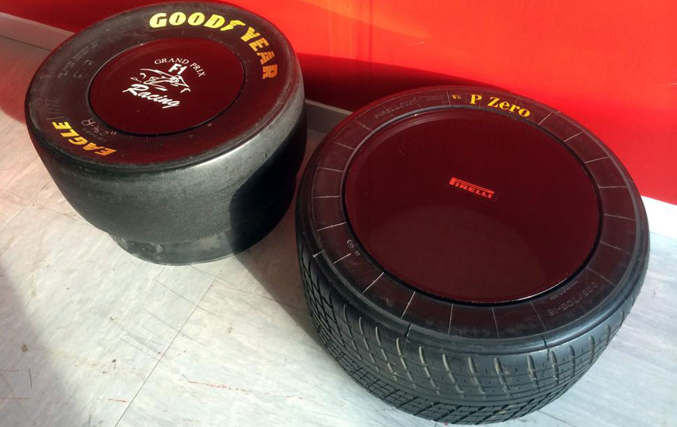 F1 Goodyear Tyres