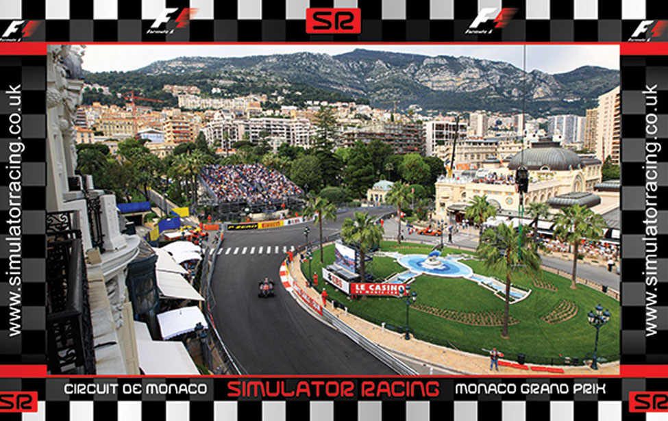 F1 Monaco Grand Prix Casino Hill 10'